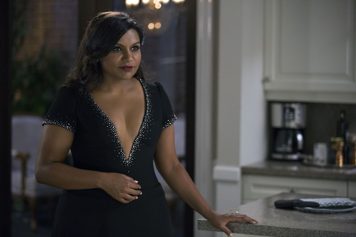 Mindy Kaling as Mindy Lahiri in season 4 of The Mindy Project.