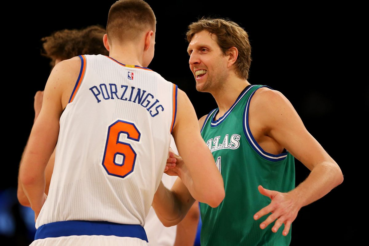 Dallas Mavericks v New York Knicks