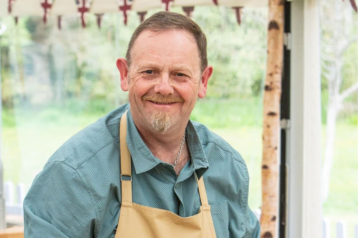 Phil, a contestant on Great British Bake Off 2019
