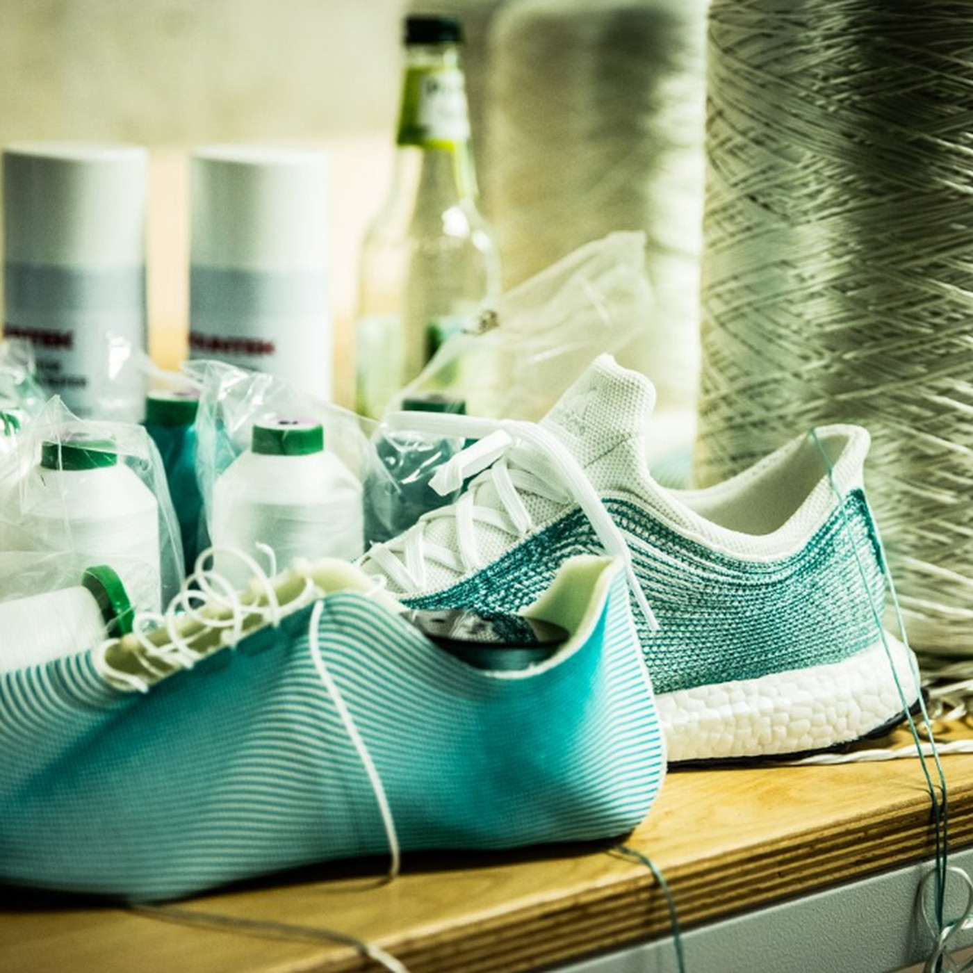 df3d4ae27 Adidas' limited edition sneakers are made from recycled ocean waste - The  Verge
