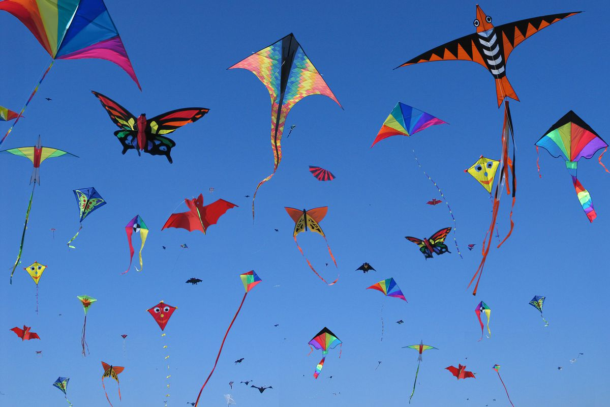 Great Salt Lake State Park will host a kite-flying event on Saturday, Oct. 13, at 1 p.m.