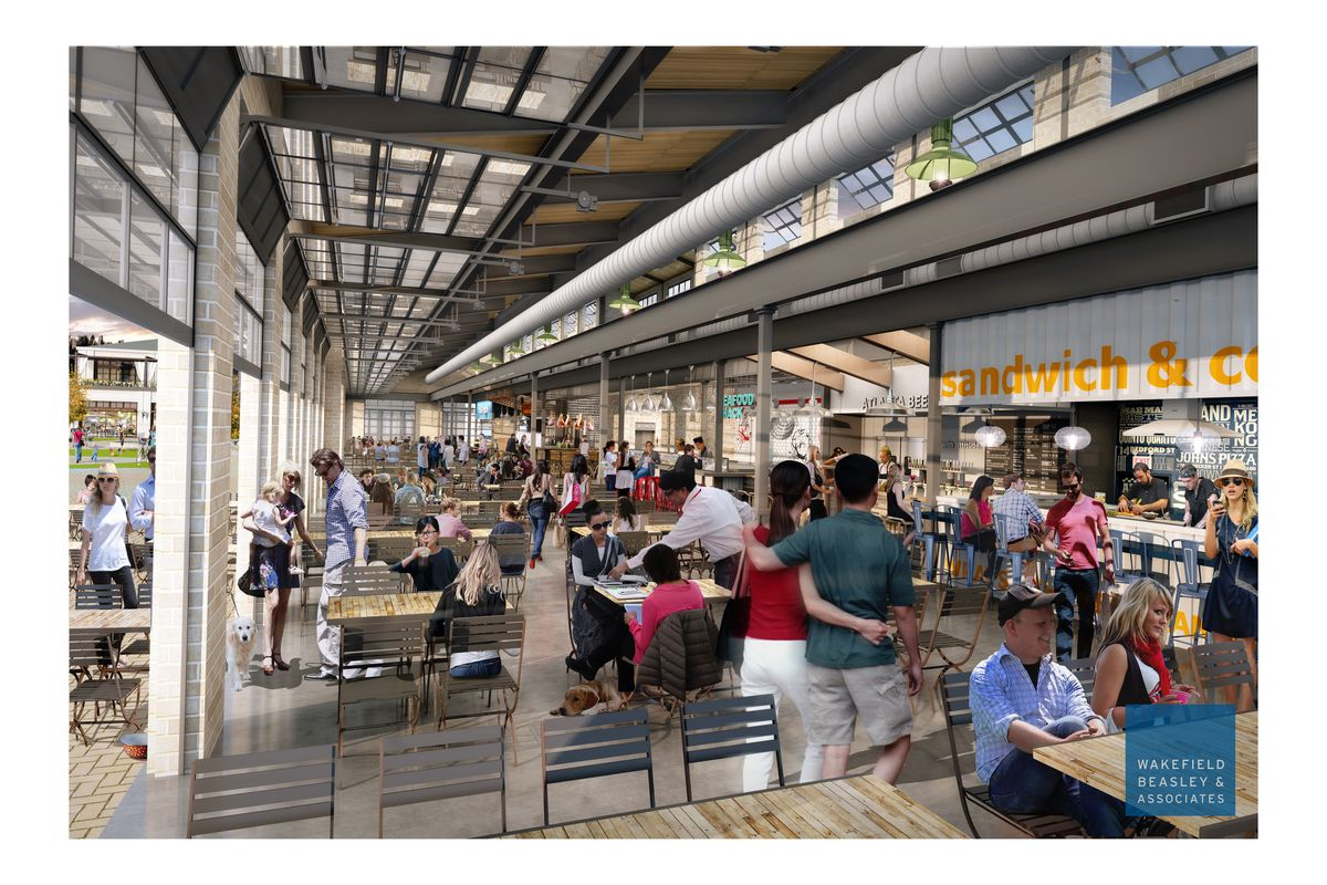 The projected look of metro Atlanta's next big food hall.