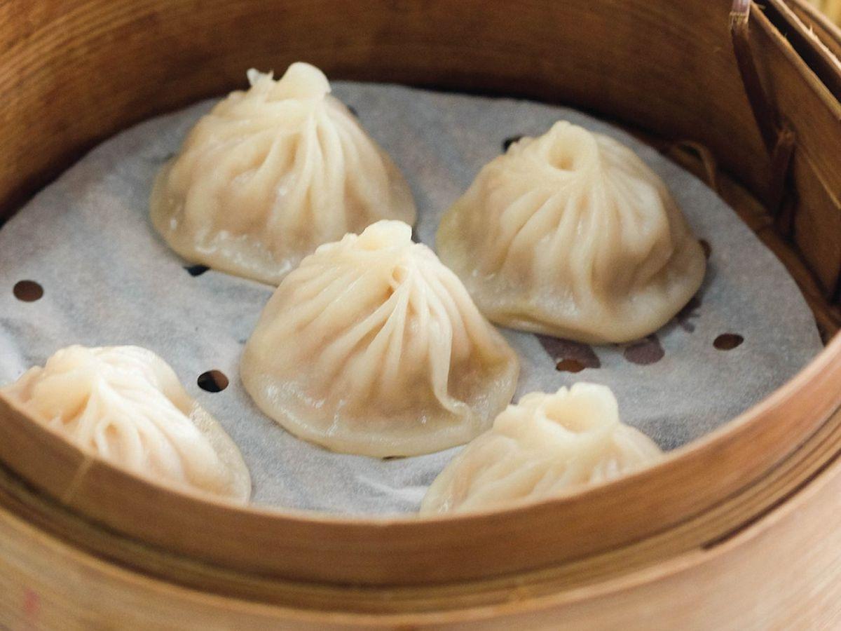 Soup dumplings from Maketto