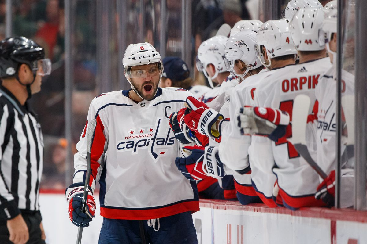 Wild struggle with turnovers and goaltending while ovi leads brad rempel usa today sports geenschuldenfo Image collections