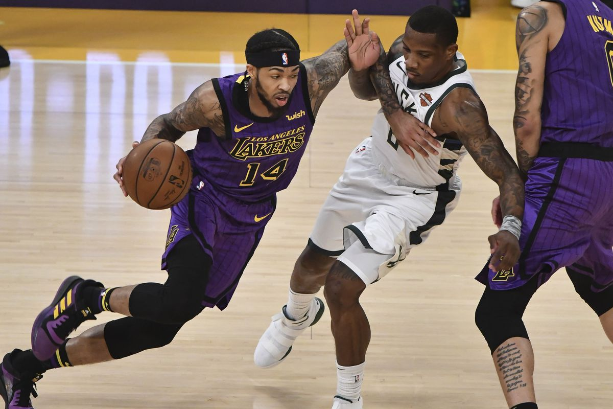 85508436e Lakers vs. Bucks Recap  Brandon Ingram and LeBron James combine for ...