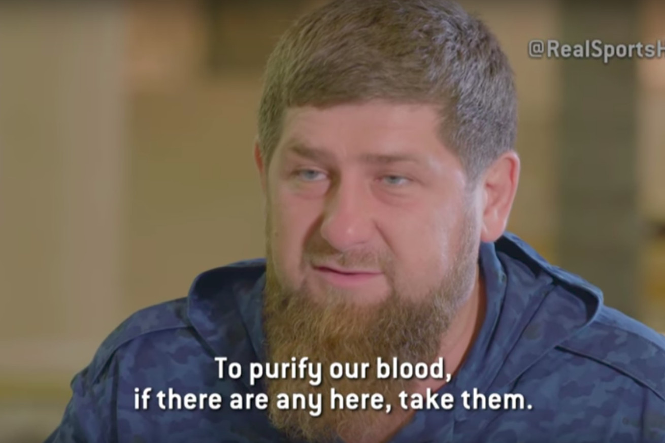 community news, Chechen warlord, MMA promoter Ramzan Kadyrov would 'condone' violence against gays by relatives in Russian republic