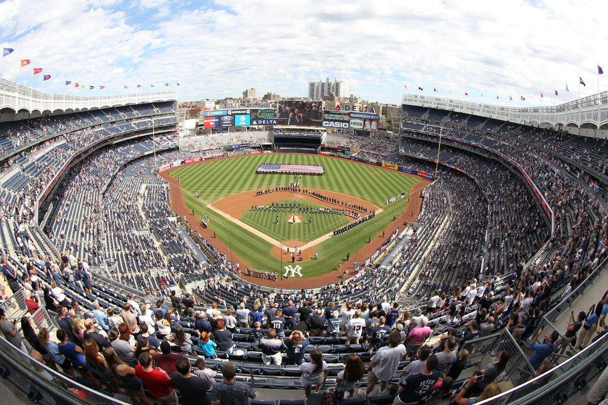 Where to Eat at Yankee Stadium, 2019 Edition - Eater NY on jones beach google maps, central park google maps, georgia dome google maps, empire state building google maps, bc place google maps, coney island google maps, bryant park google maps, lambeau field google maps, battery park google maps, ground zero google maps, roosevelt island google maps, wall street google maps, gracie mansion google maps, ford field google maps, soldier field google maps, harlem google maps, greenwich village google maps, centurylink field google maps, ellis island google maps, columbus circle google maps,
