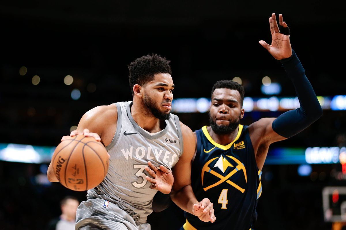 Timberwolves end NBA's longest playoff drought with huge win over Nuggets