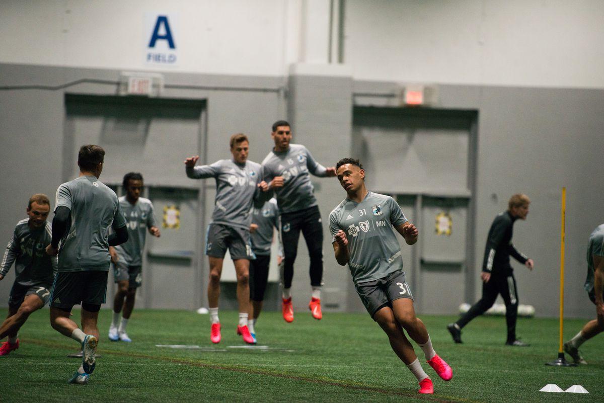 Minnesota United training 2/12/2020