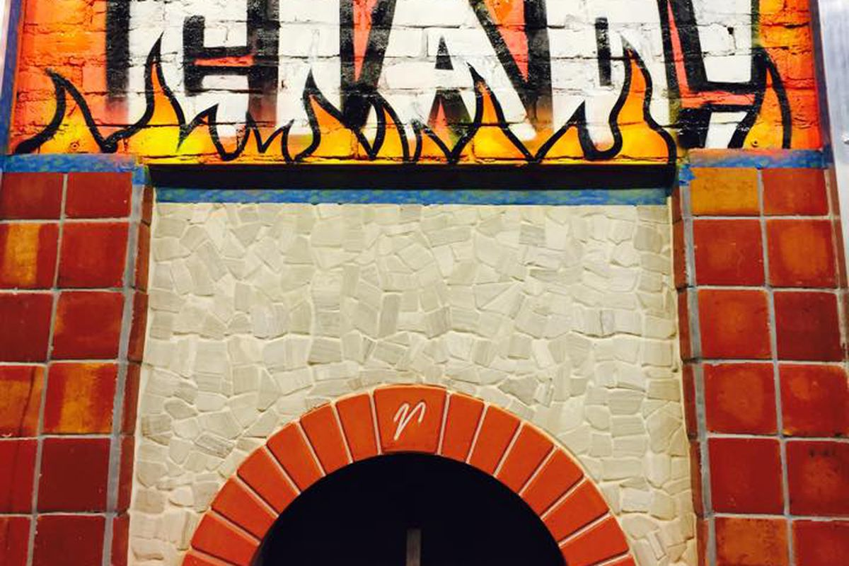 The pizza oven at Ciao! Pizza & Pasta