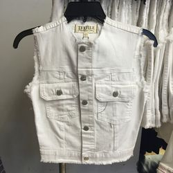 Vest, size small, $49