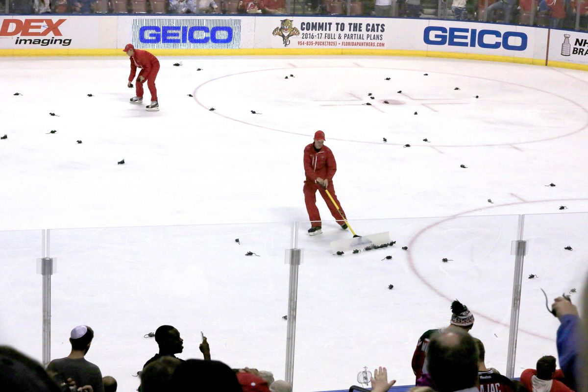 c2ec3a8b Rats! New Jersey Devils Chewed Up by Florida Panthers Like Rats in ...