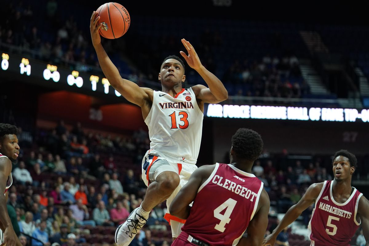 NCAA Basketball: Virginia at Massachusetts