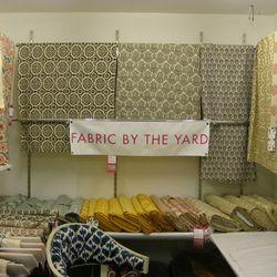 The fabric area