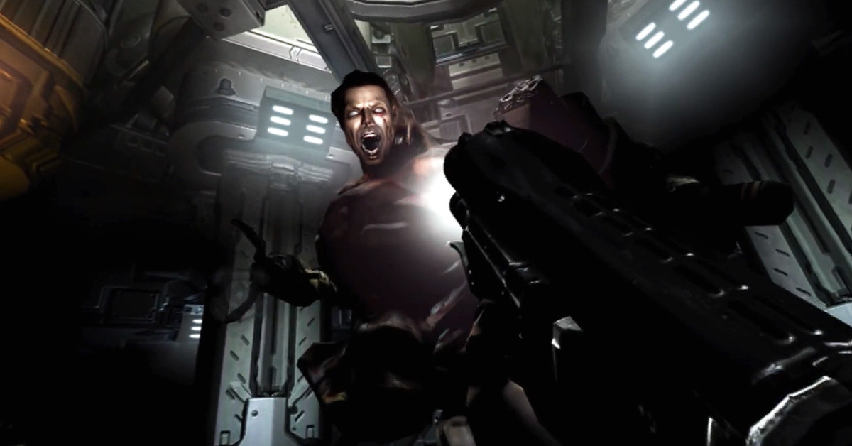 Doom 3 for PSVR is a solid showcase for Sony's Aim Controller