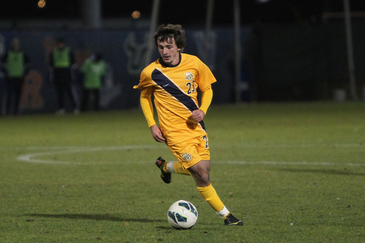 Kelmend Islami and the men's soccer team has their eyes set on a long post season run.
