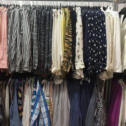 Equipment silk blouses, $55—$60