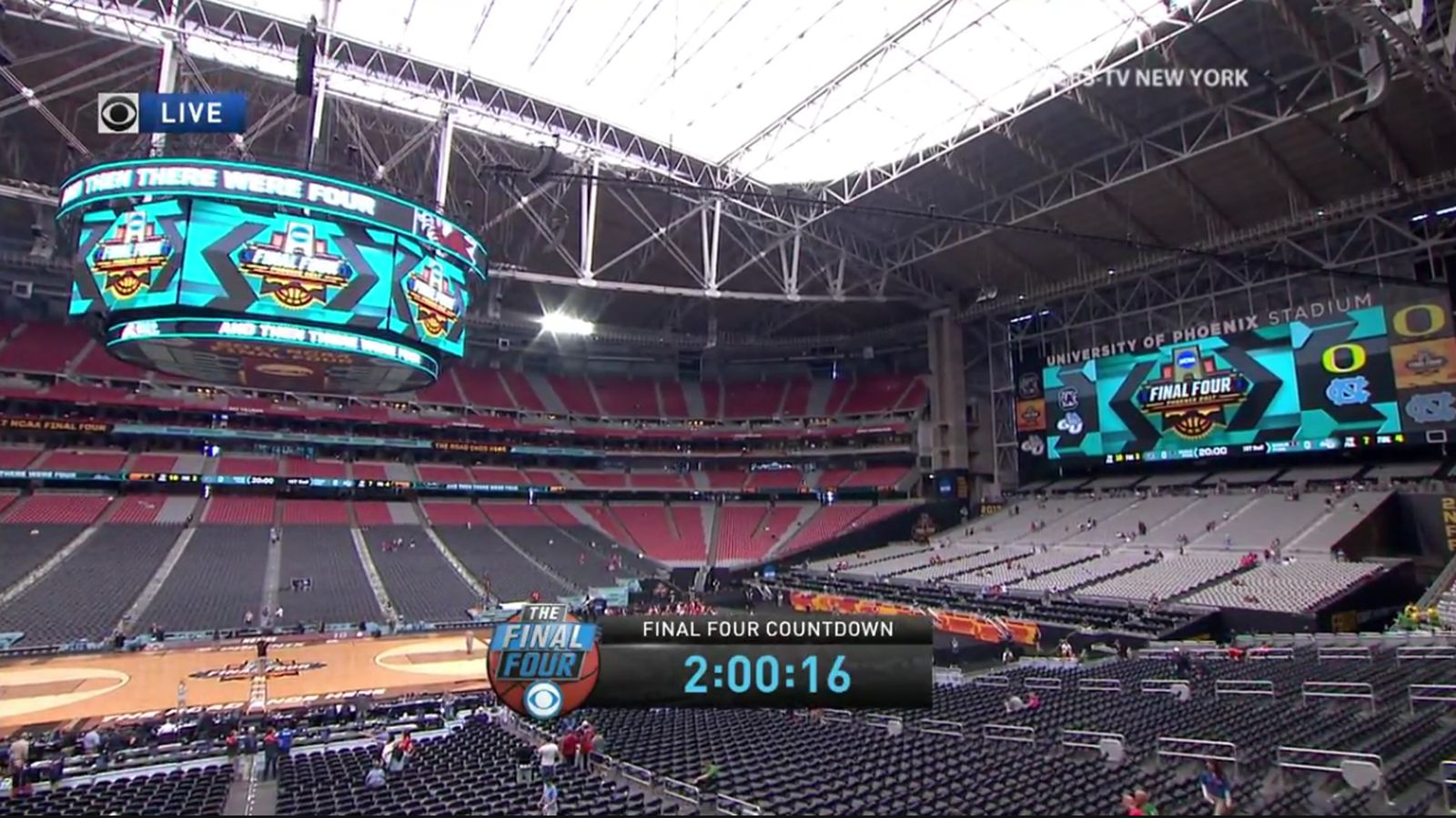 2017 Final Four Court Will Have Lots Of Sunlight Shining