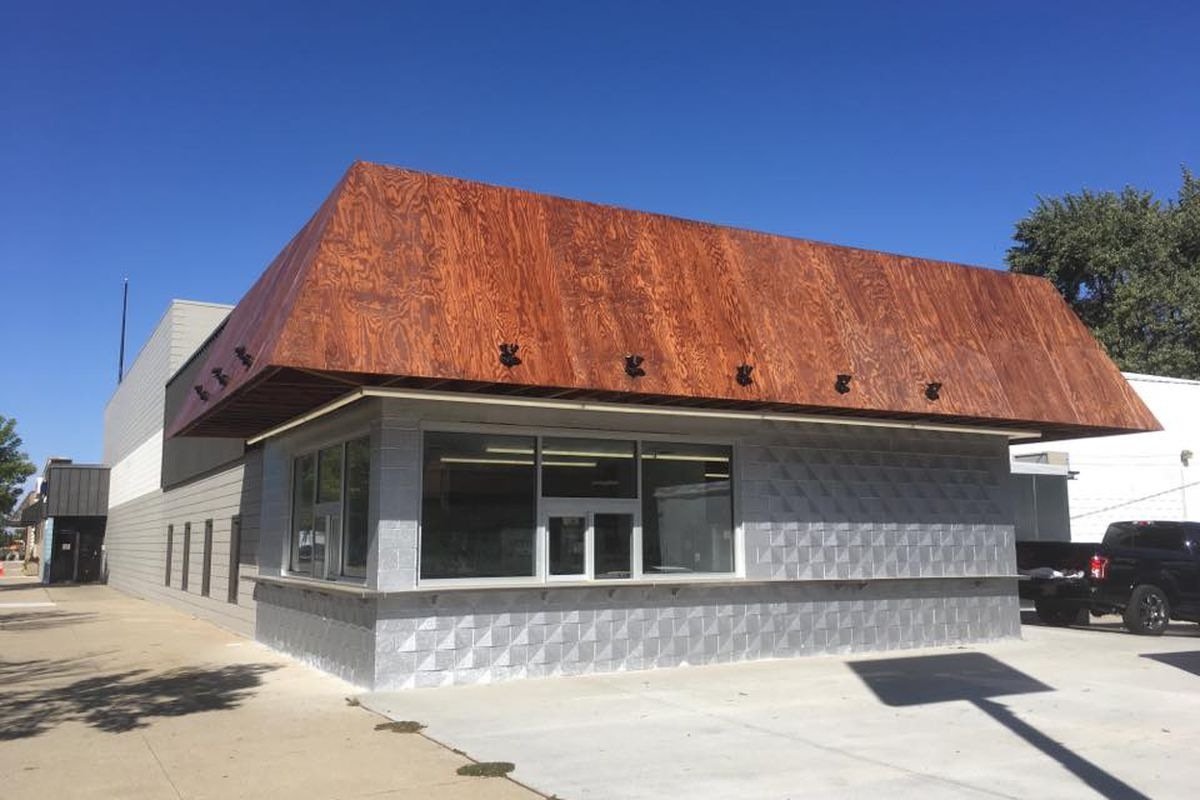 Doug's Delight is undergoing renovations. The restaurant now features and updated roof and facade improvements.