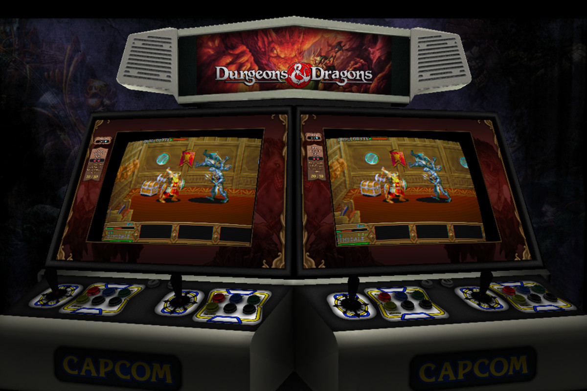 Capcom's remastered Dungeons & Dragons duo comes with 'vampirism ...