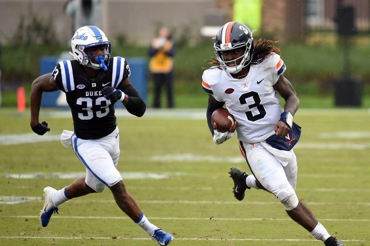 NCAA Football: Virginia at Duke