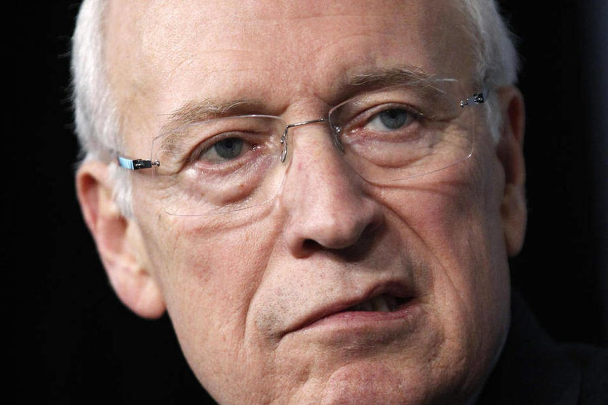 FILE - In this Oct. 6, 2011 file photo, former Vice President Dick Cheney is seen in Washington. Former Vice President Dick Cheney walked onstage without any assistance and spoke for an hour and 15 minutes without seeming to tire in his first public engag