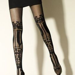 """Gerbe by Gaspard Yurkievich Graphic Gothic Tights, <a href=""""http://www.peekbrooklyn.com/collections/graphic-tights/products/gerbe-sublime-tights-gaspard-yurkievich-tights"""">$60</a>"""