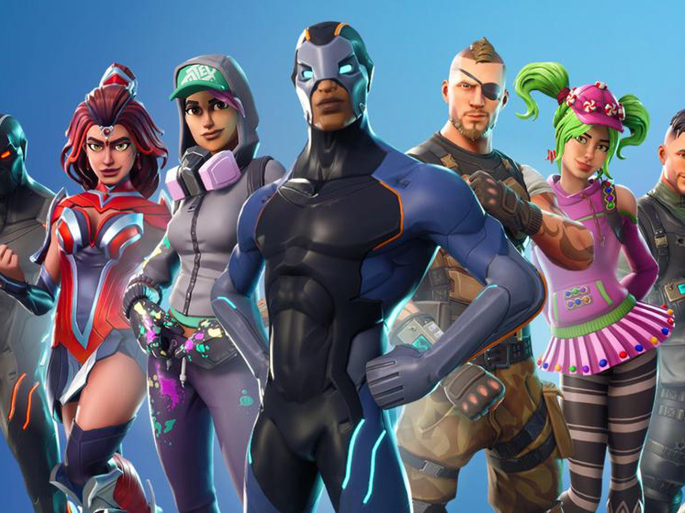 fortnite is the biggest game on the planet right now because it s a living breathing world the verge - fortnite multiplayer
