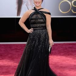 Kelly Osbourne in a Tony Ward Couture gown.