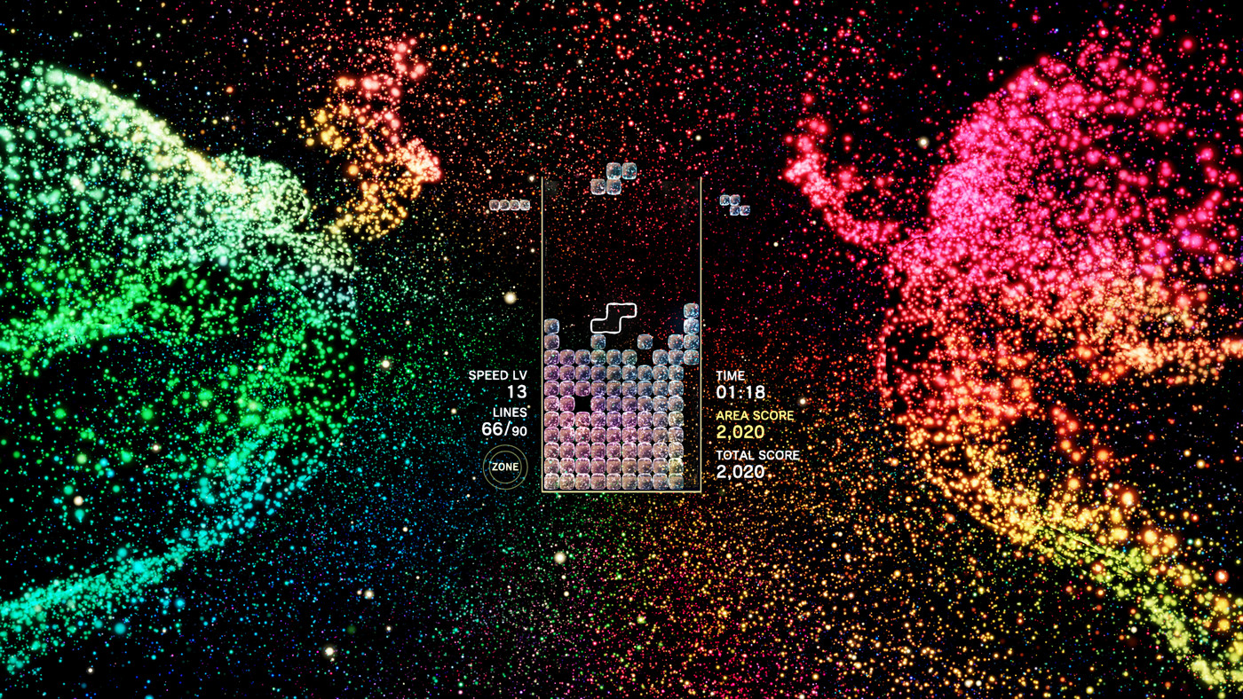 Tetsuya Mizuguchi's trippy new take on Tetris will put you in the zone - The Verge