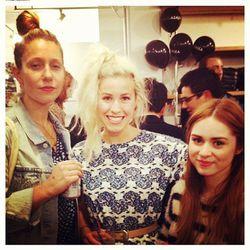 """Molly DeCoudreaux, Anna Alexia Basile and Jessica Velez; Photo via <a href=""""http://instagram.com/mollydecoudreaux"""">MollyDeCoudreaux</a>"""
