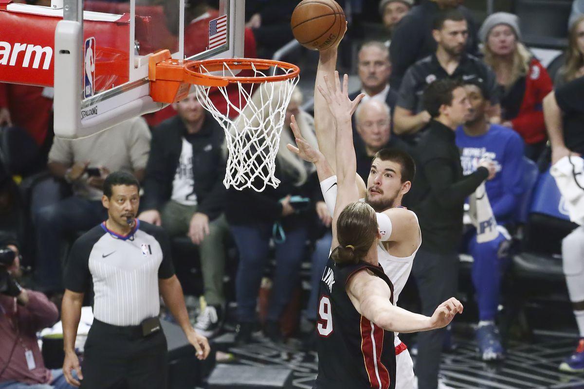 CA: Miami Heat v LA Clippers