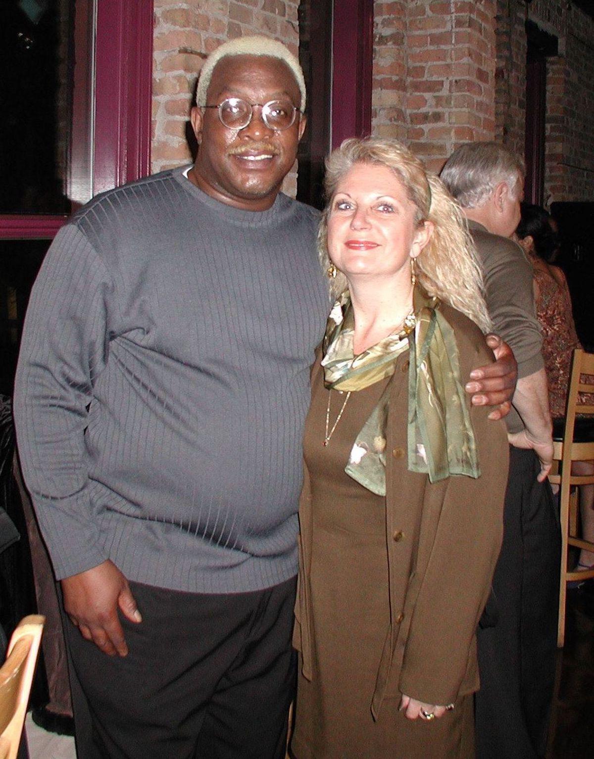 Leroy Hearon and Phoebe Grant.