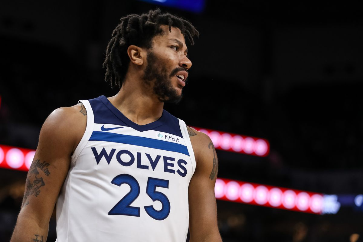 huge discount cb3a7 5b319 Wolves Re-Sign Derrick Rose - Canis Hoopus