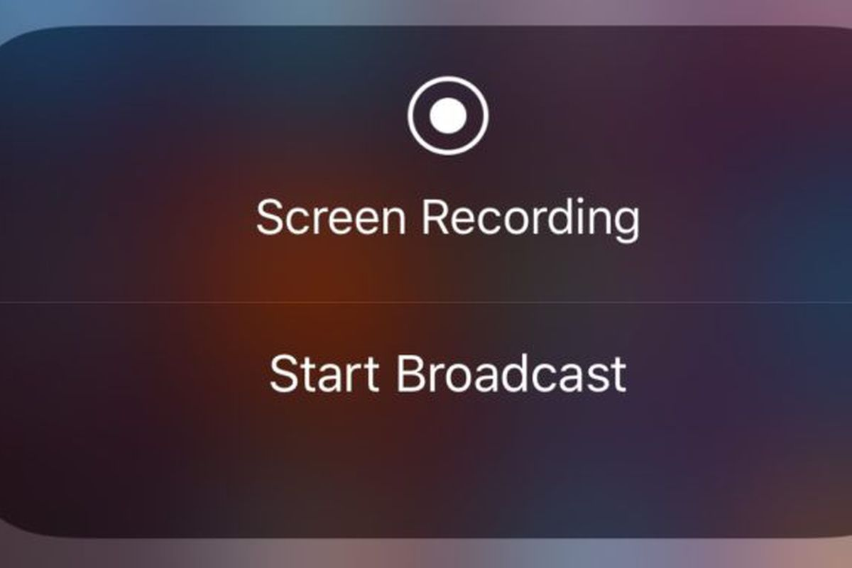 IOS 11 beta 3 hints at possible live broadcasting feature
