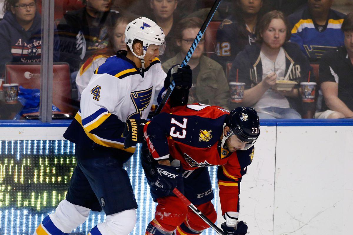 NHL: St. Louis Blues at Florida Panthers