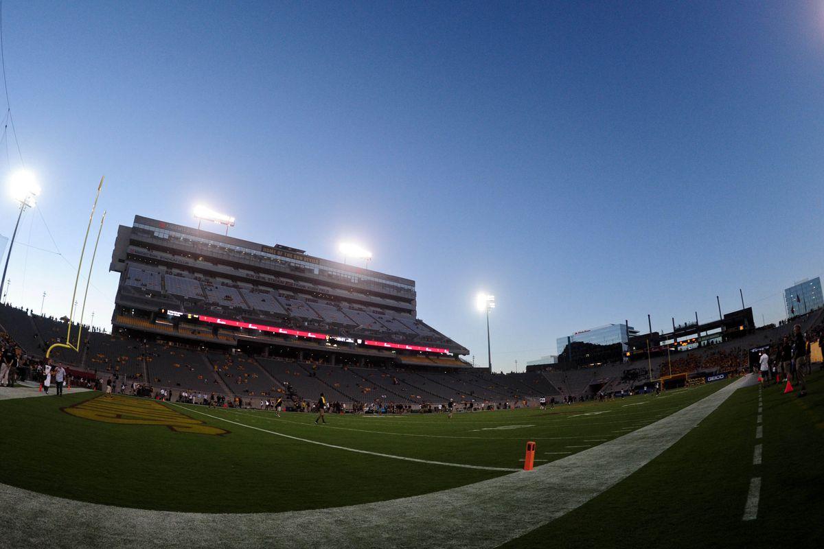 NCAA Football: Northern Arizona at Arizona State