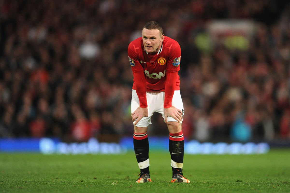Wayne Rooney has enough class to effectively play nearly every postion -- but United miss his incisive playmaking higher up the pitch.