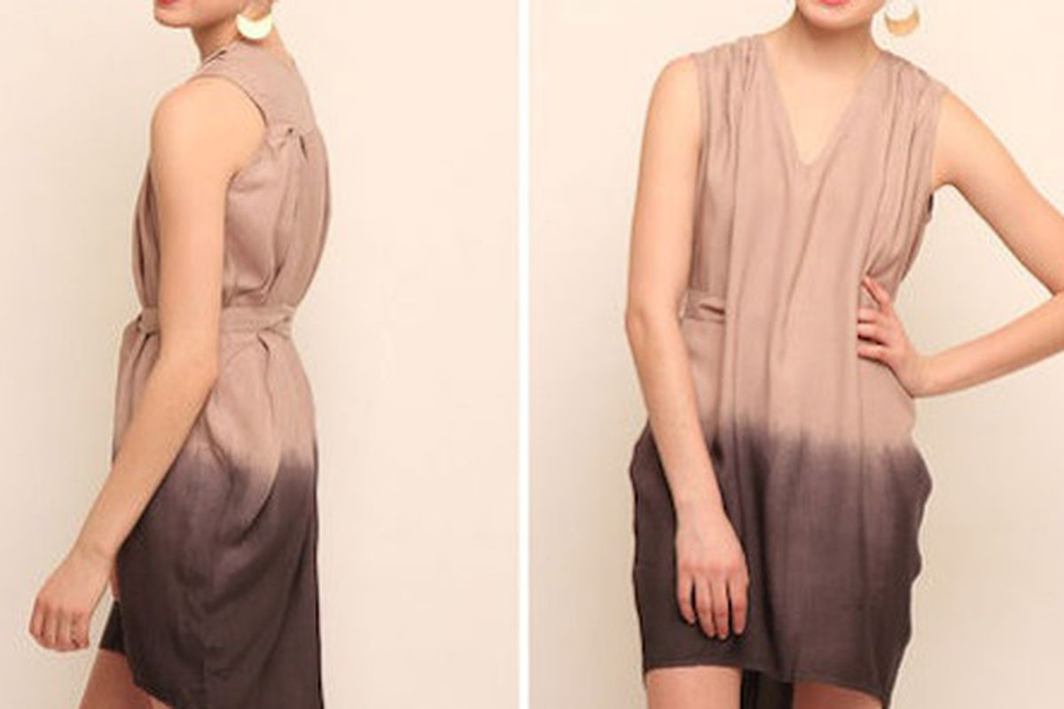 Now on Shoptique: Aoyama Itchome short sleeve dress with tie from Callalilai, $69