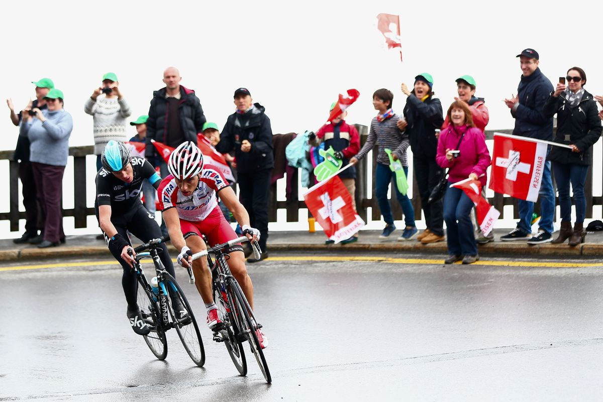 froome spilak romandie Michael Steele - Velo/Getty Images