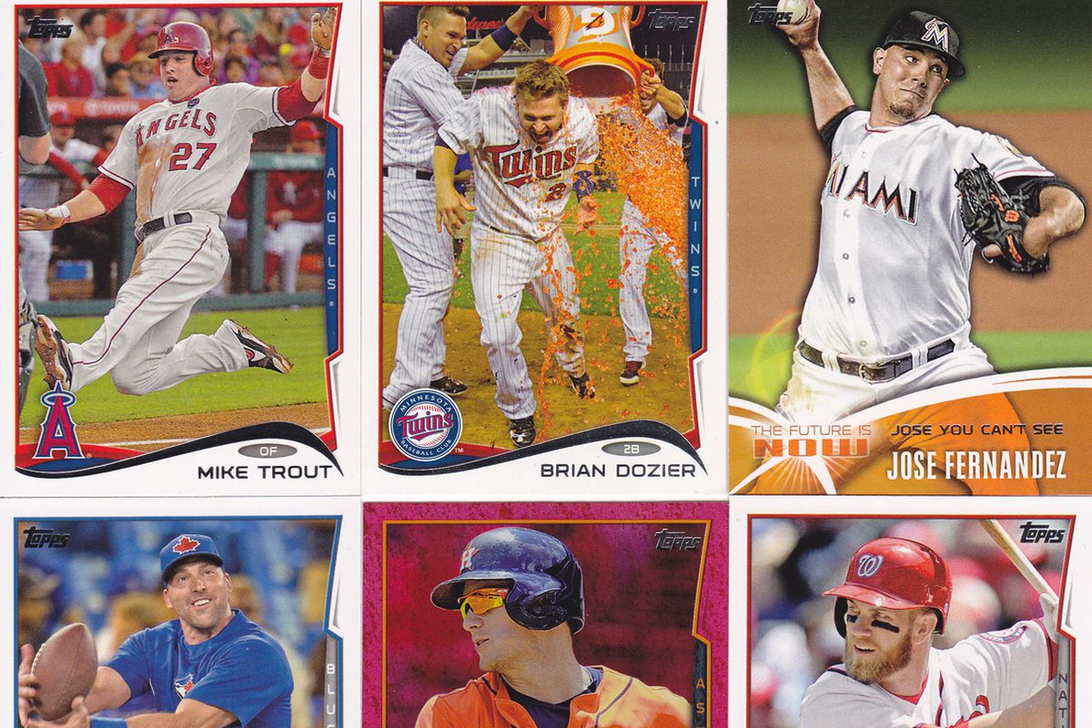 Topps 2014 Baseball Cards Cards Go To War But Decline