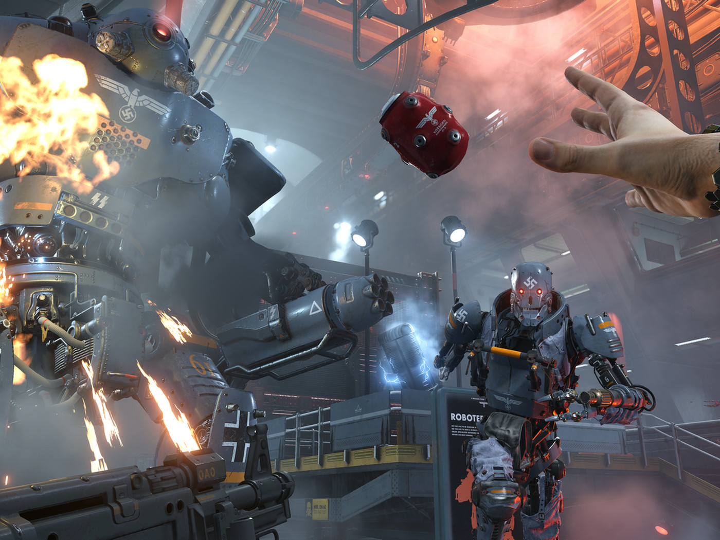 Two Hours With Wolfenstein 2 The New Colossus Polygon