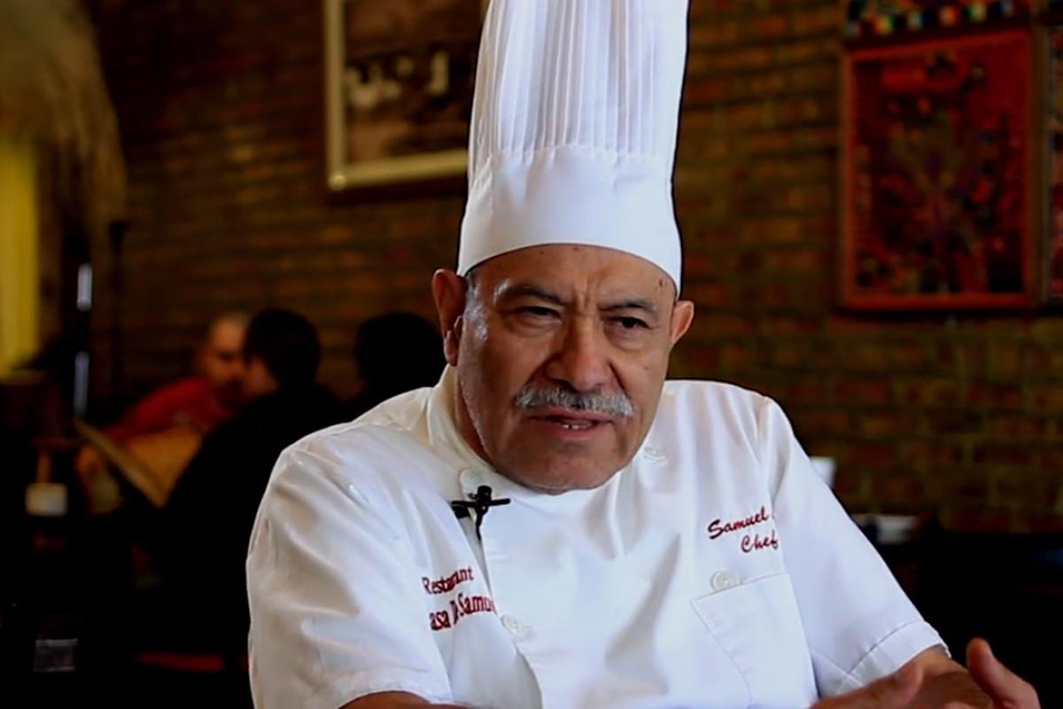 Chef Samuel Linares, chef-proprietor of La Casa de Samuel in Little Village.
