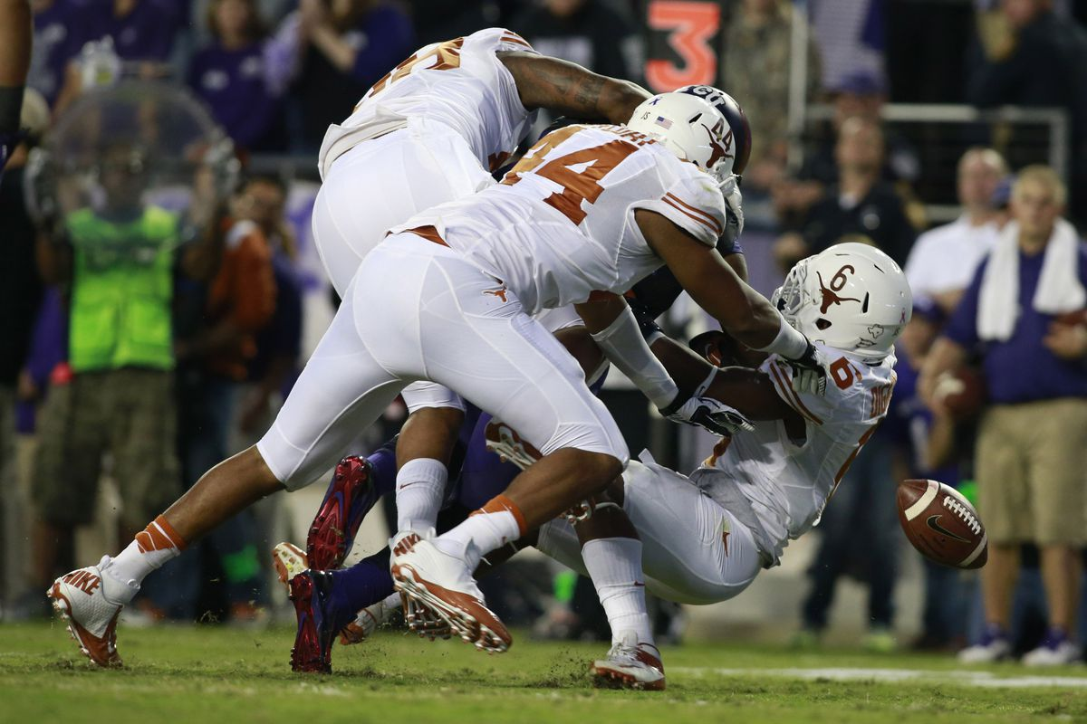 These boys mean business. Poor Trevone Boykin had no idea what hit him.