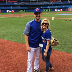 Toronto Blue Jays pitcher Taylor Cole in 2016. He made his major league debut in August 2017 against the New York Yankees. Cole also served an LDS mission in Toronto.