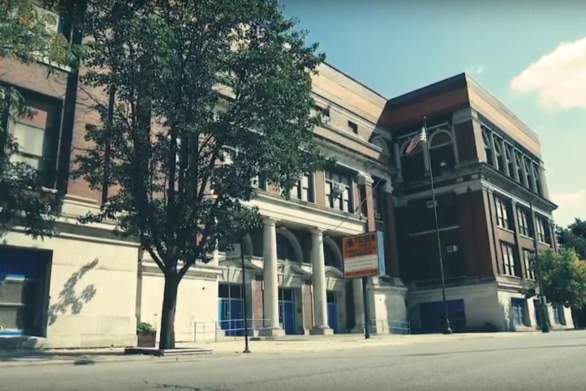 Tilden High School.