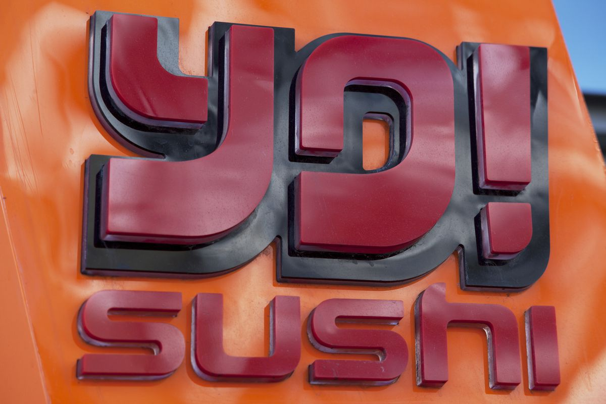 UK - Brands - Sign for food chain Yo Sushi.