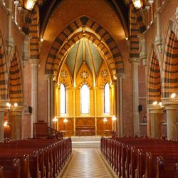 Holy Trinity Church in Shanghai is nearing the end of a painstaking renovation by a Chinese Protestant group. The church will reopen later this year.