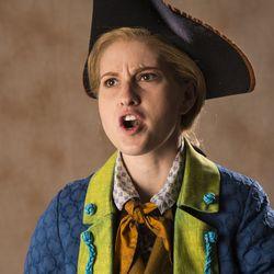 "Sceri Sioux Ivers stars as Jim Hawkins in the Utah Shakespeare Festival's 2017 production of ""Treasure Island."""