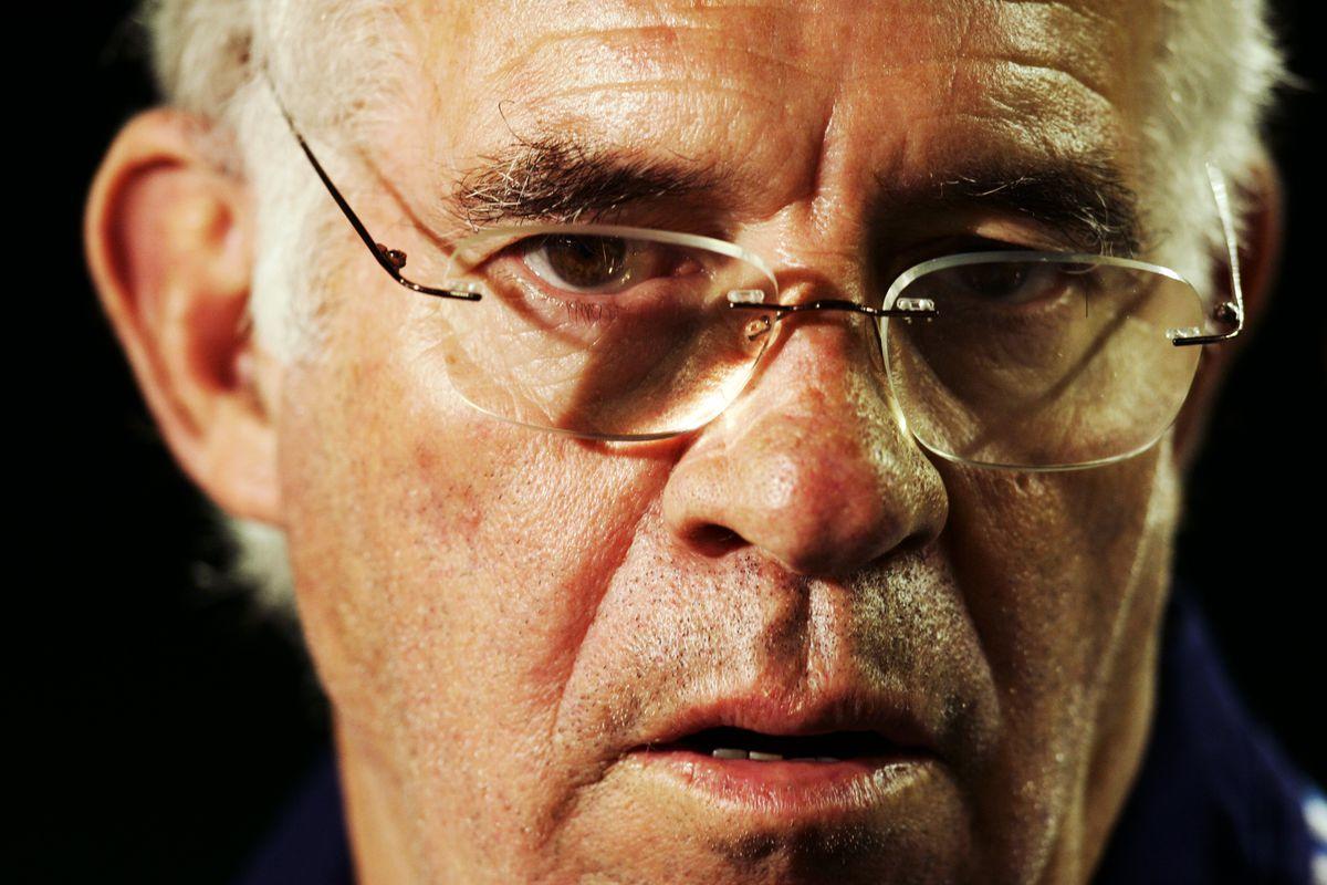 Luis Aragones coach of Spain